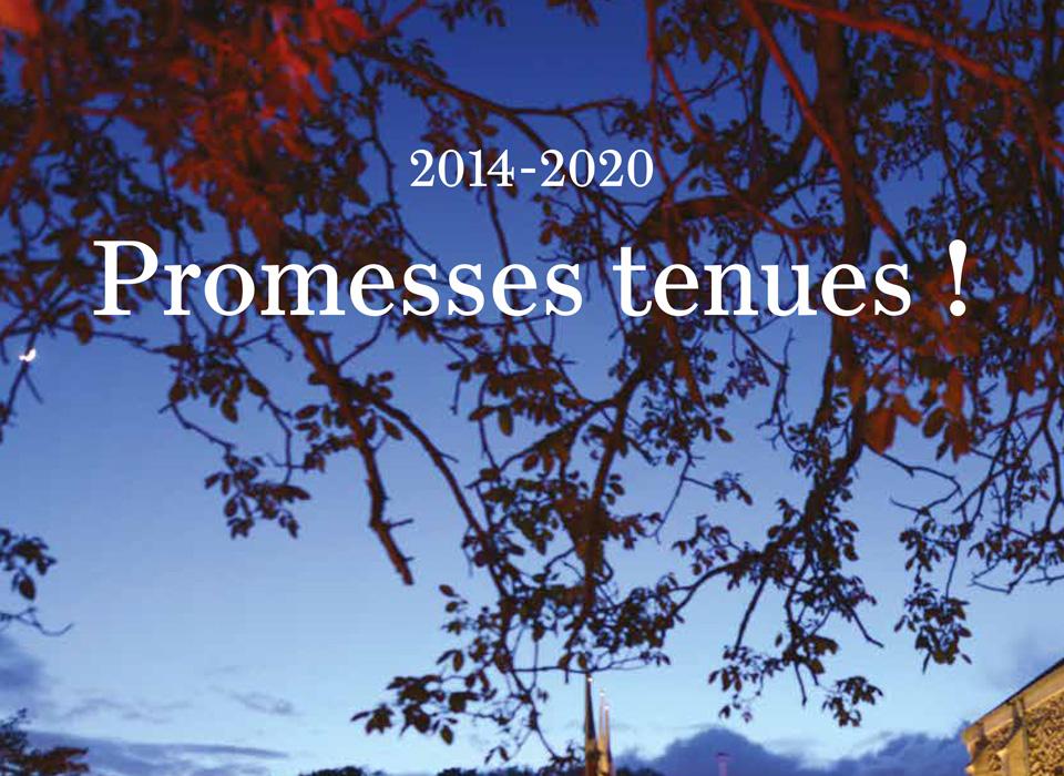 Promesses tenues 2014-2020